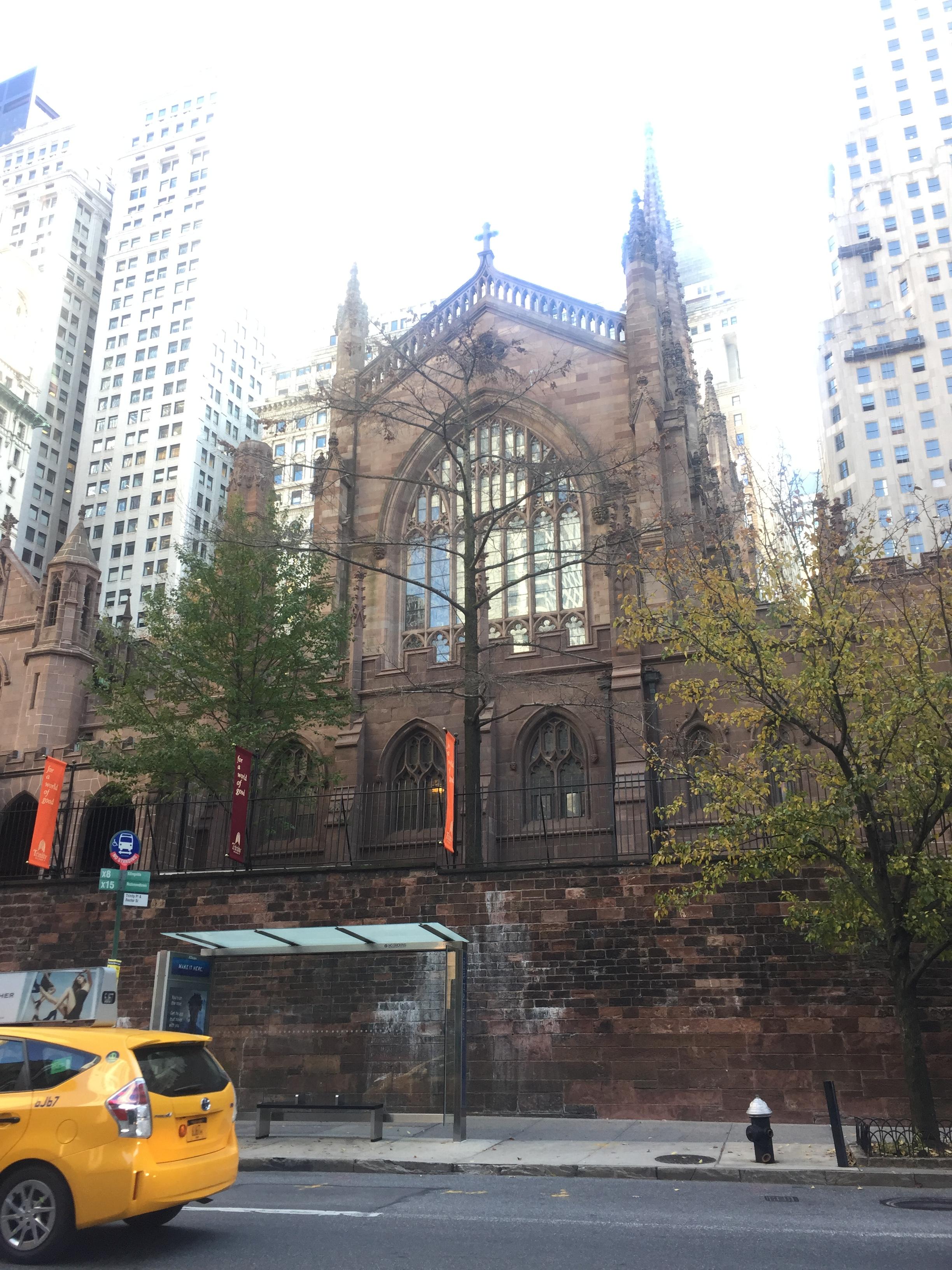 ニューヨークの旅 トリニティ協会(2016年11月19日)