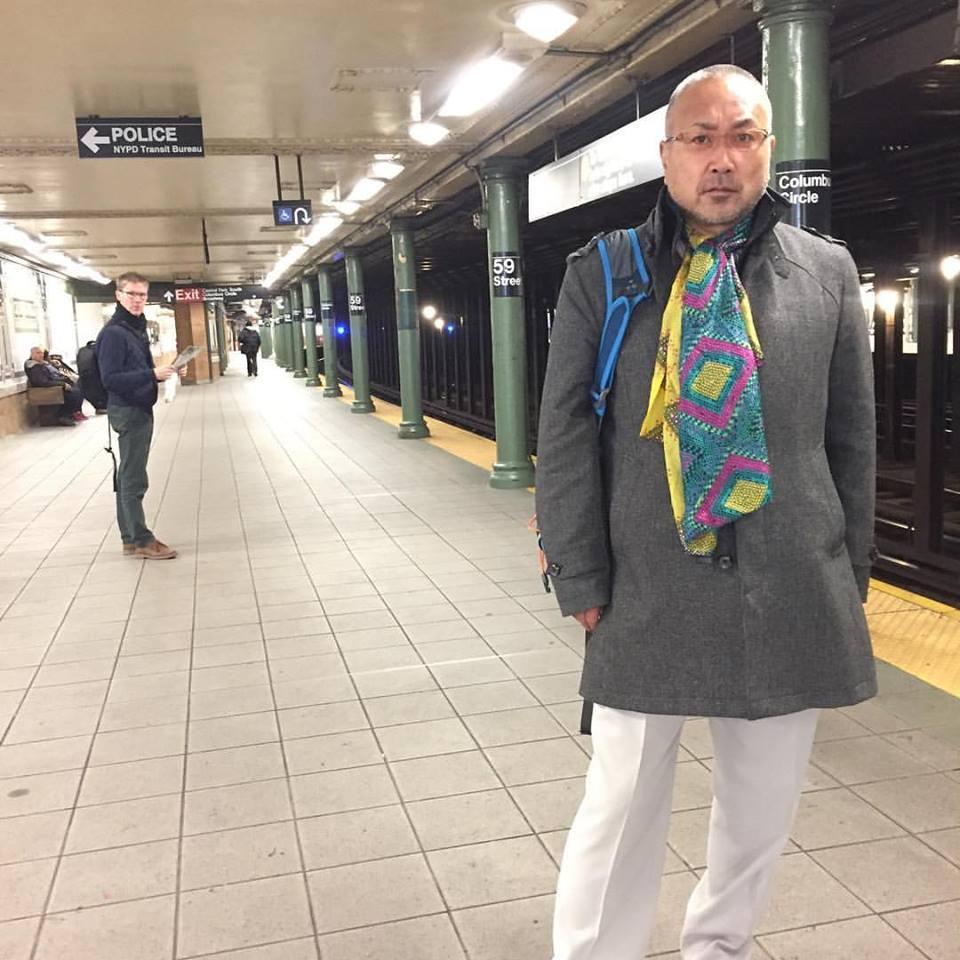 ニューヨーク旅行 初めての地下鉄(2016年11月14日)