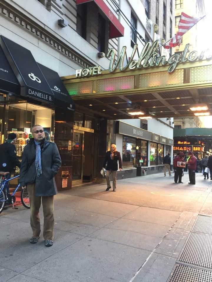 ニューヨークに着きました(2016年11月13日)