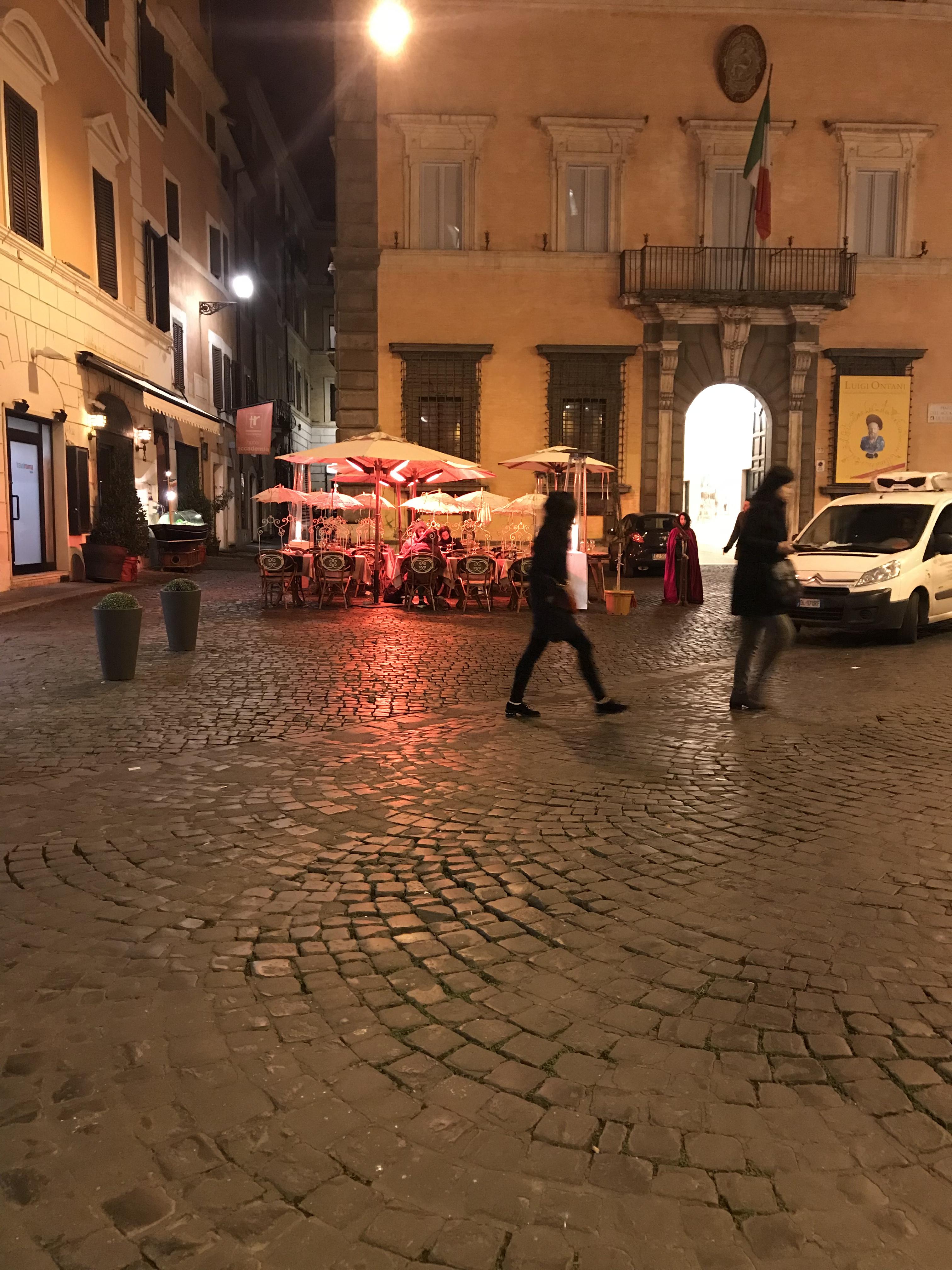 ローマ タクシー事情 2017年12月