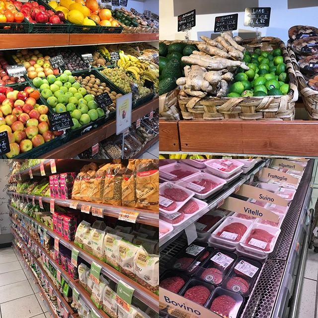 ローマ観光3日目 テルミニ駅の地下にあるスーパーマーケット