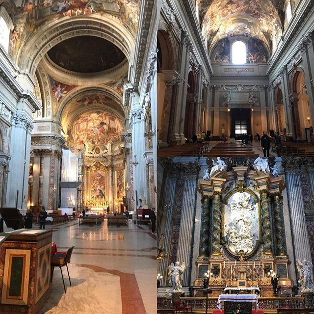 ローマ観光初日 聖イグナチオ・デ・ロヨヤ教会