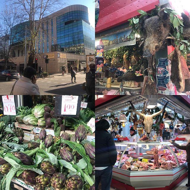 ローマ観光の二日目 トリオンファーレ市場