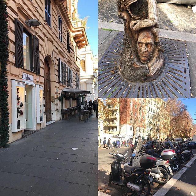 ローマ観光の二日目 サンタンジェロ城の北側 コーラ・ディ・リエンツォ通り