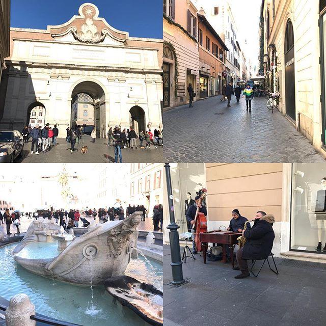 ローマ観光最終日。今日は主人のリクエストで今までの復習(^。^) ポポロ広場、コルソ通り、コンドッテイ通り、スペイン広場 。後ほど日本で詳細レポ書きます。#ローマ #イタリア #海外旅行 #roma #itary