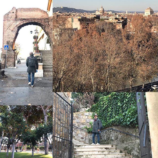ローマ観光3日目の午後 オレンジ公園