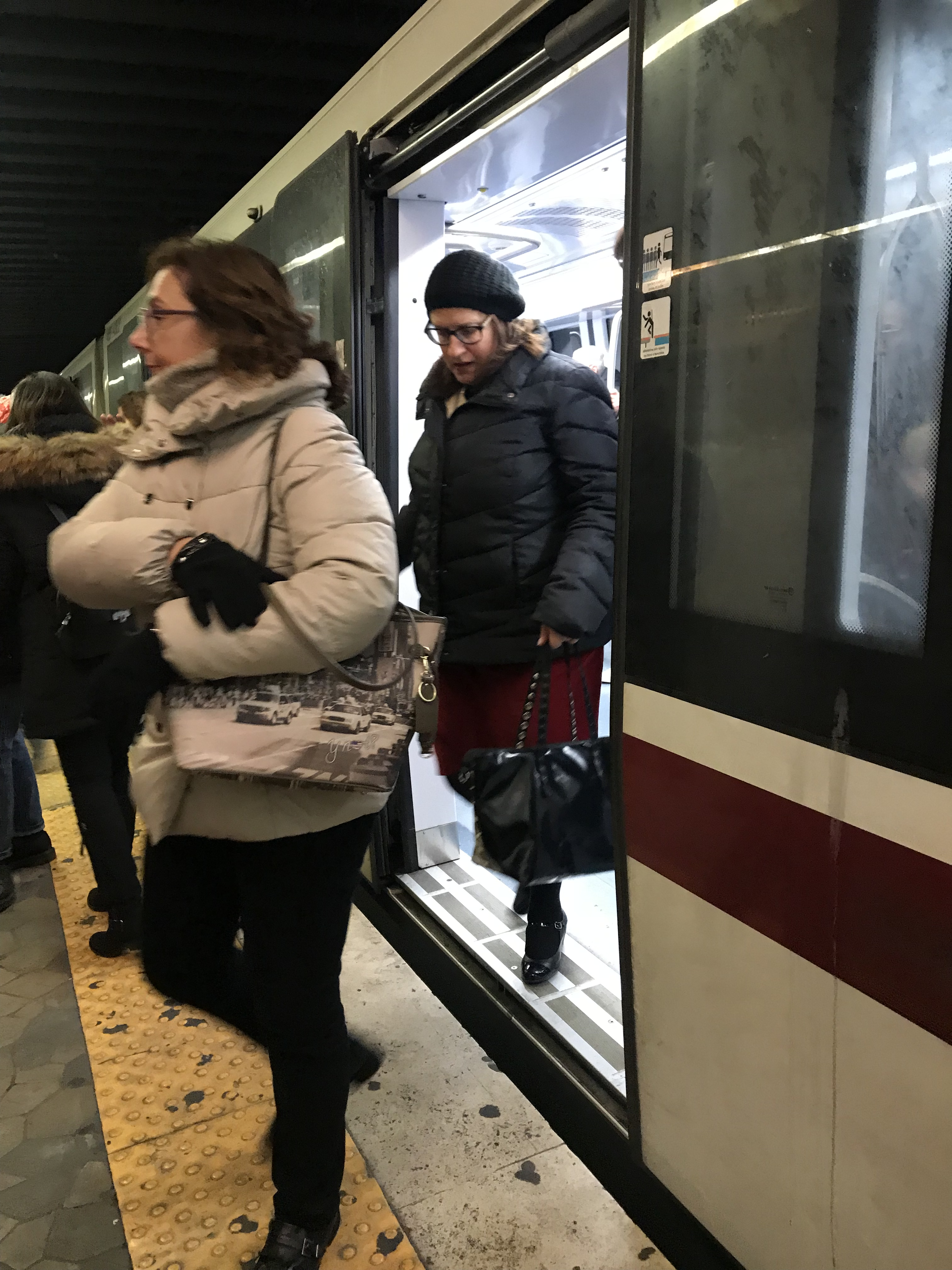 ローマの地下鉄事情