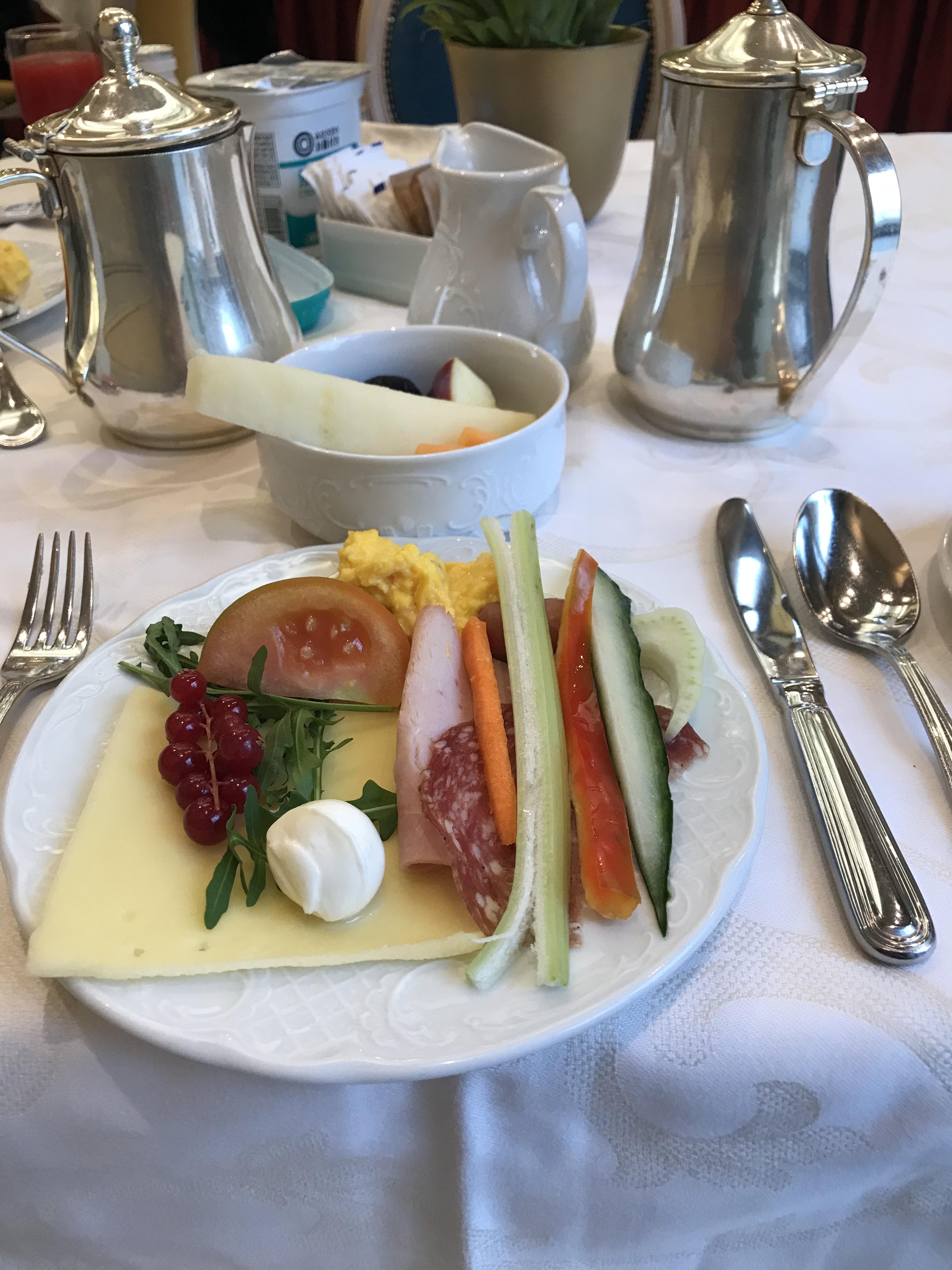 ローマの朝食事情