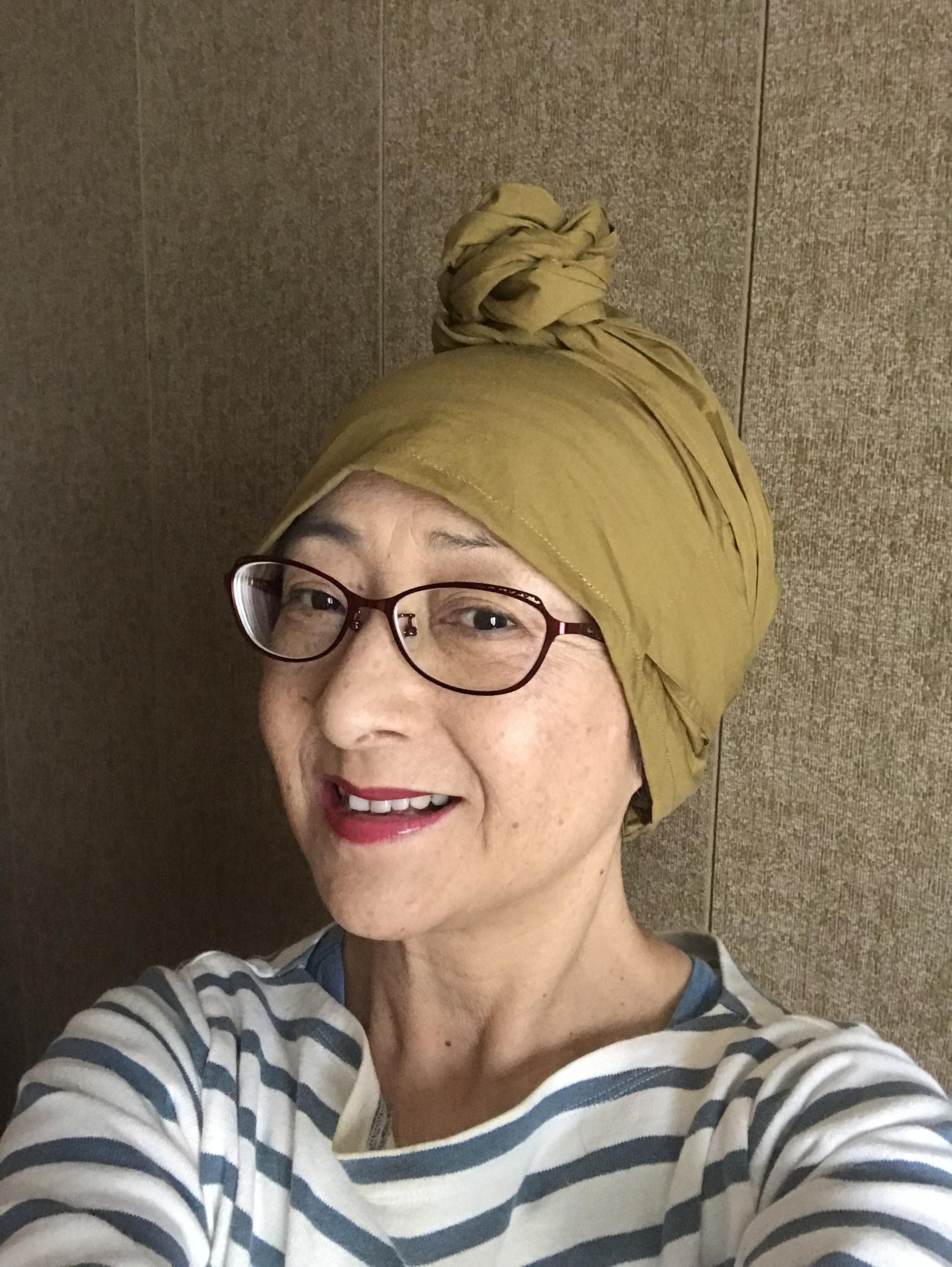 絶賛脱毛中 抗がん剤治療17日目