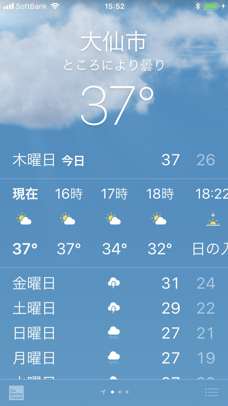 暑い、暑すぎる!