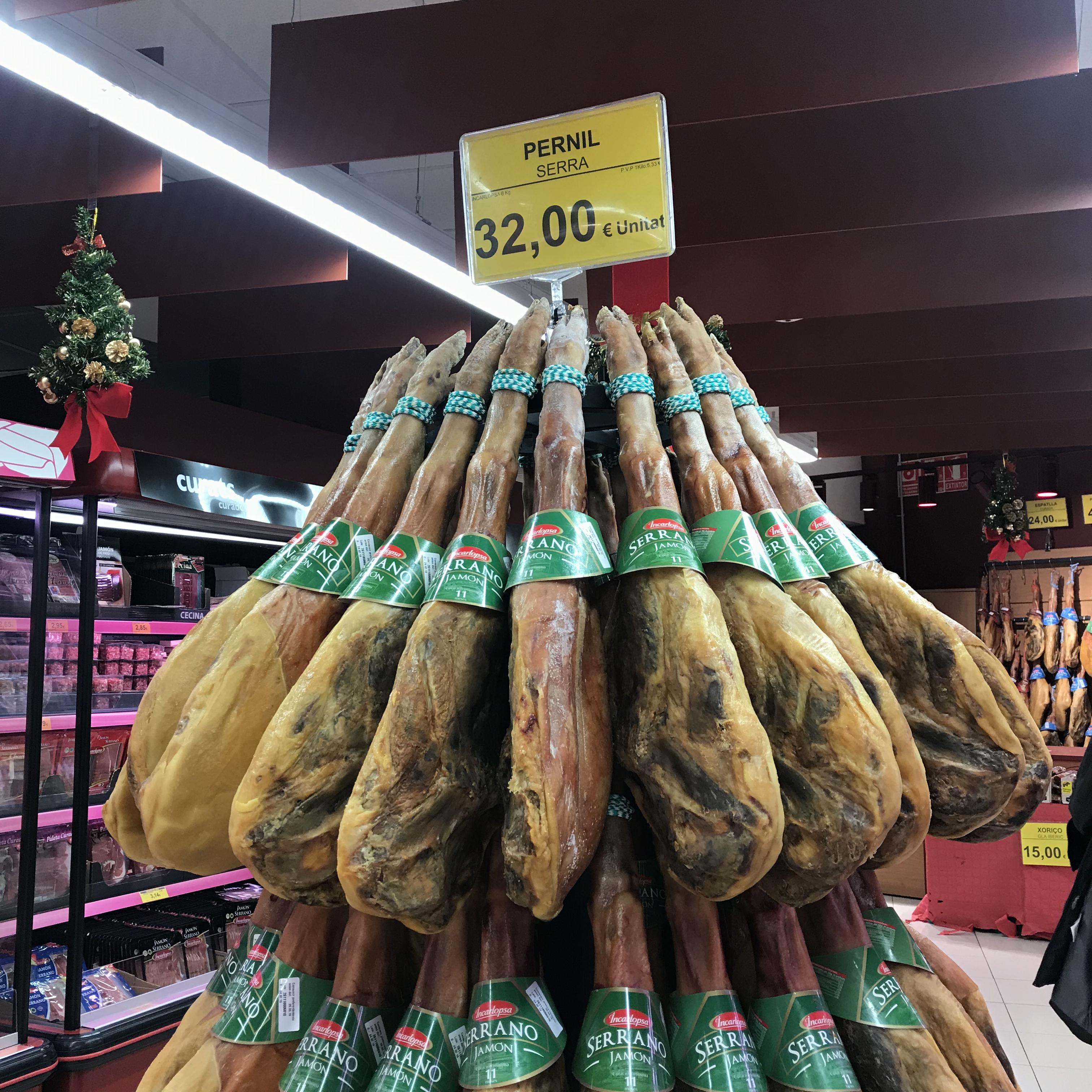 バルセロナ旅行記 いろいろなスーパーマーケット