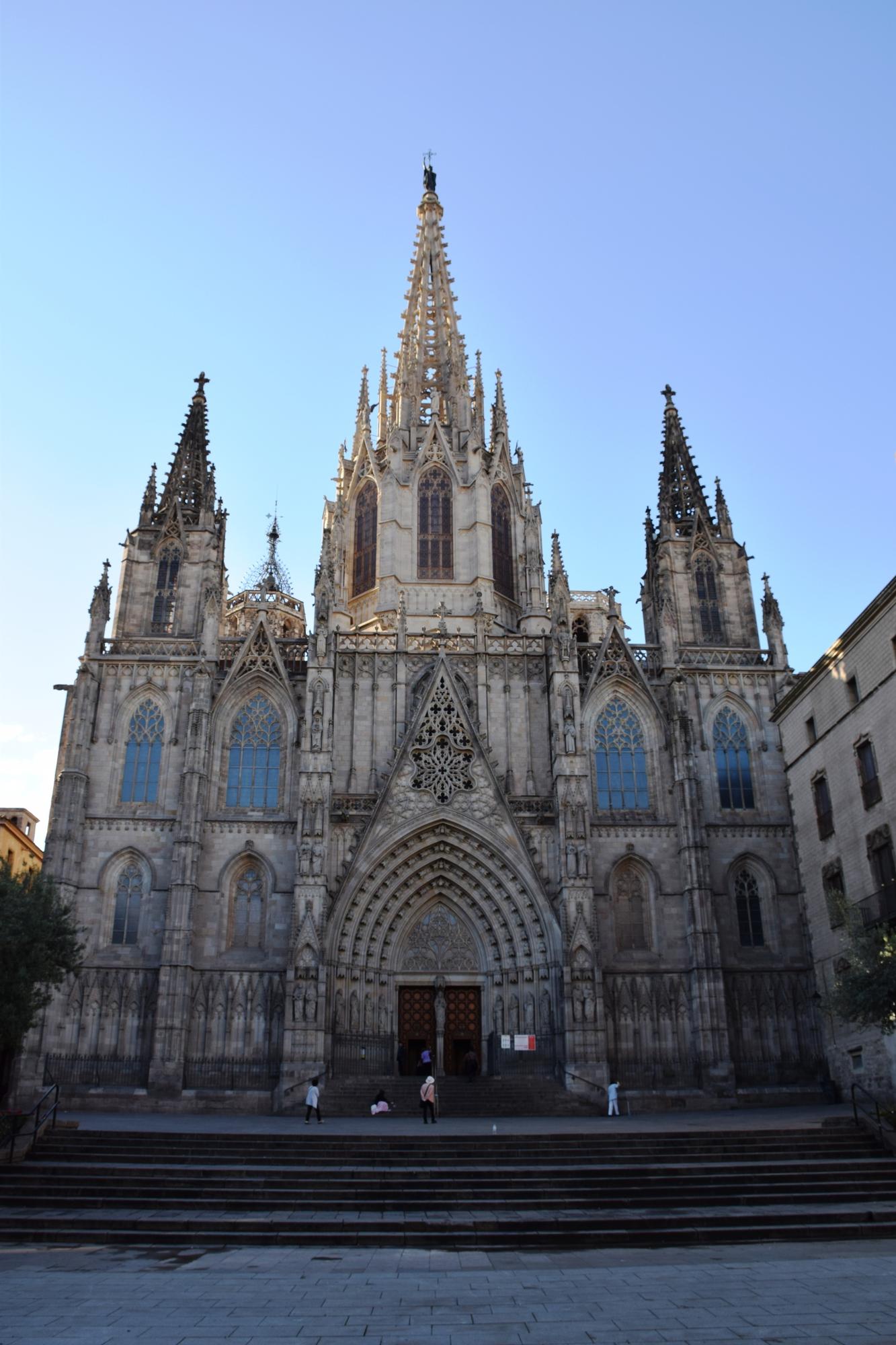 バルセロナ旅行記 カテドラル