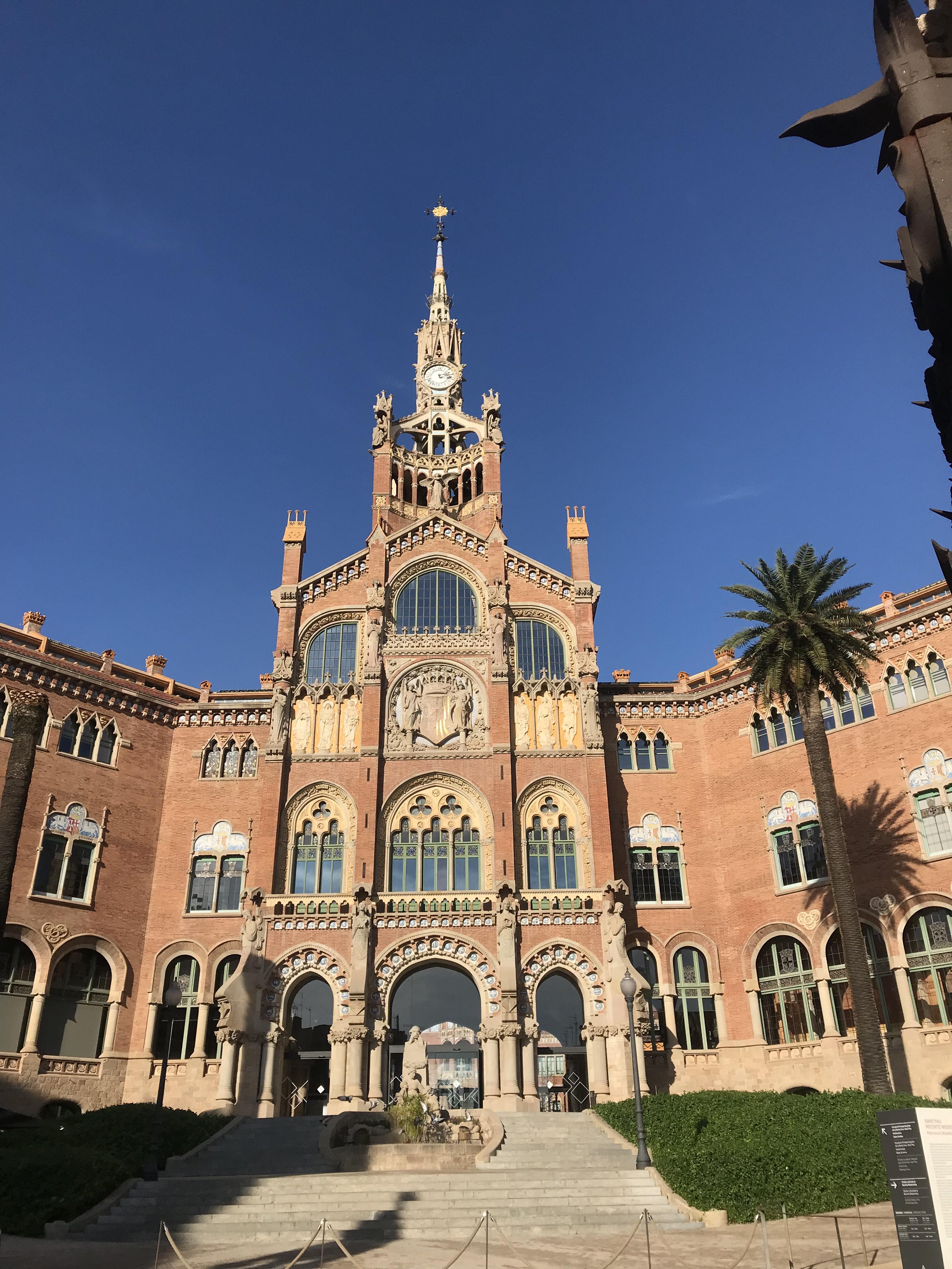 バルセロナ旅行記 サンパウ病院