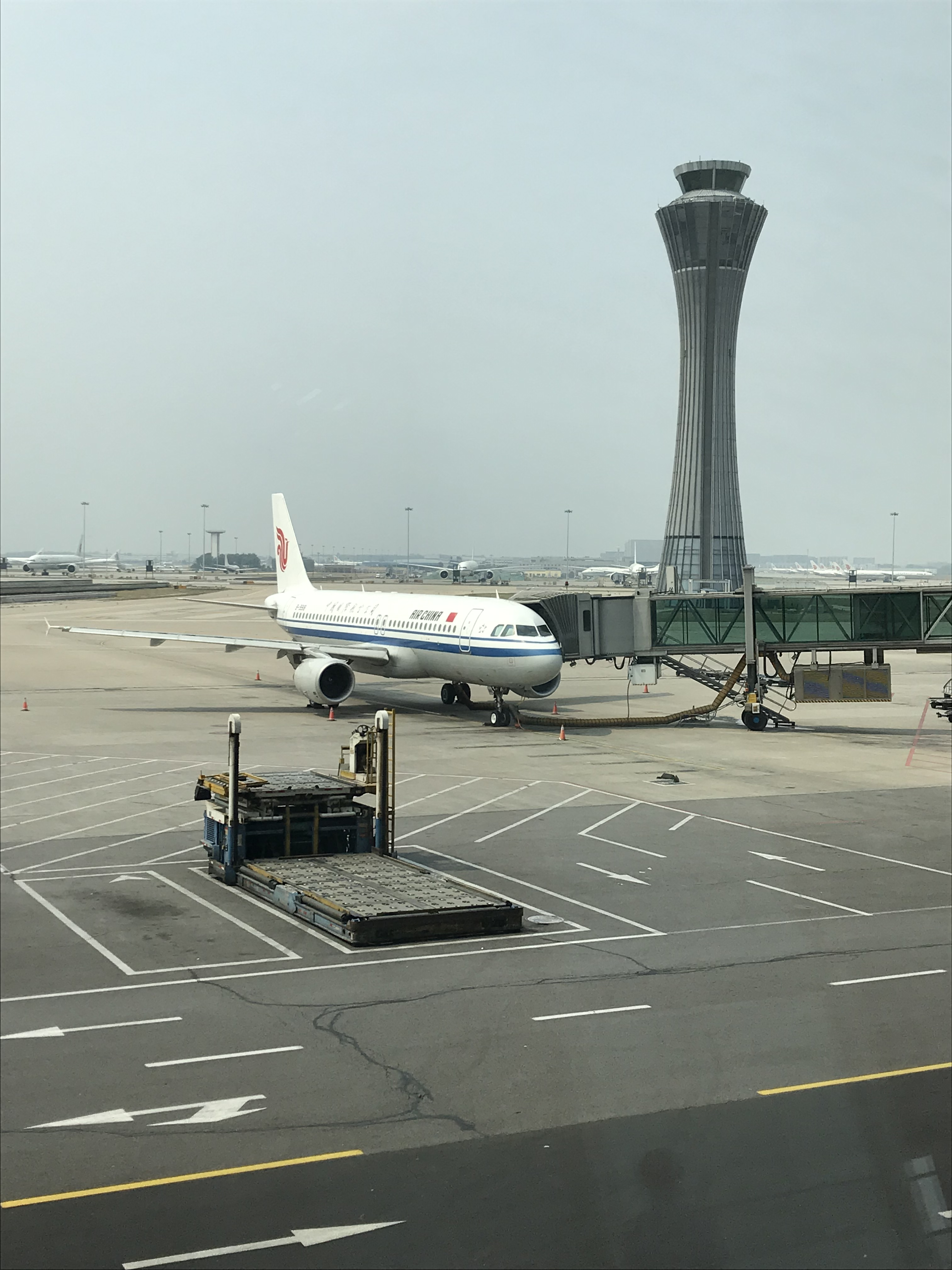カザフスタンへの一人旅 1日目 恐怖の北京空港の乗り継ぎと2時間遅れのヌルスルタン到着