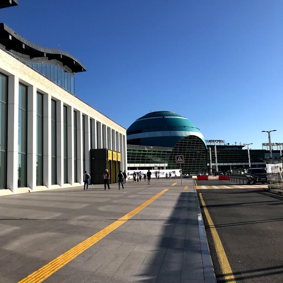 カザフスタン一人旅 最終回 ヌルスルタン空港 さよならカザフスタン また来ます!