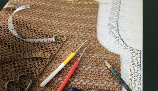 明日は編み物製図教室