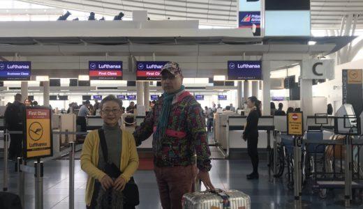羽田空港で昼食中 もうすぐ飛びます(2019年11月9日 14時現在)