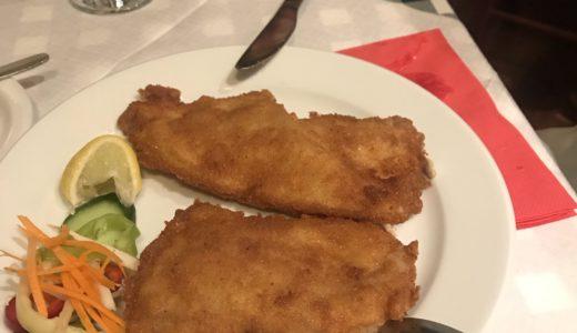 ブダペスト旅行記 ドナウ川の川魚料理