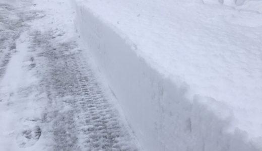 この冬一番の冷え込み 積雪は一晩で40㎝以上