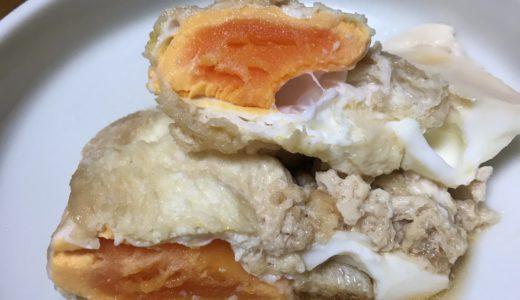 糖質制限 油揚げの巾着卵煮 レシピ