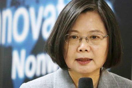 台湾が国家として承認されることを確信 台湾の蔡 英文総統