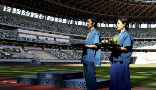 悲しすぎる! これでいいのか 東京オリンピック表彰式衣装